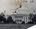 Autogiro Plane Lands at White House