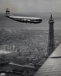 Clipper America Over Paris