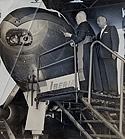 Cardinal Spellman Blesses Super Constellation