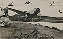 Airplane Narrowly Misses Newsreel Cameraman.