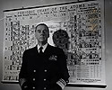 Vice Admiral W.H.P. Blandy, USN, to Command Bikini Atomic Bomb Test