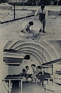 H-Bomb Radiation and Blast Shelter