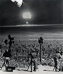 Photographers Recording Atomic Test Blast