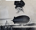 Blimp Torn Loose During A-Bomb Test