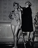 New Miss Steel Pier of 1963 Crowned by the Contest's First Winner