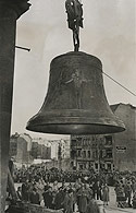 Dedicating the Freedom Bell