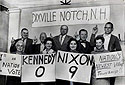 Earliest Voters Go with Nixon
