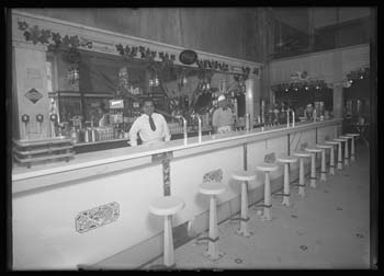 Olympia Confectionery soda fountain