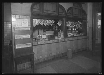 Unidentified news stand
