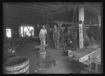 Boehmer's Blacksmith Shop