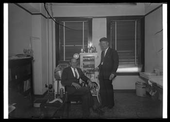 Examination room of Dr. Peterson and Dr. Thomson