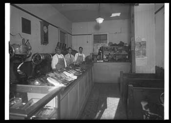 Unidentified shoe repair shop