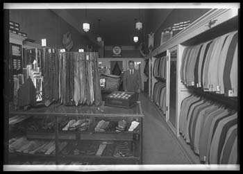 Cunningham's or Abe Klein Clothing Store