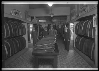 Unidentified men's store