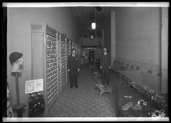 Unidentified shoe store